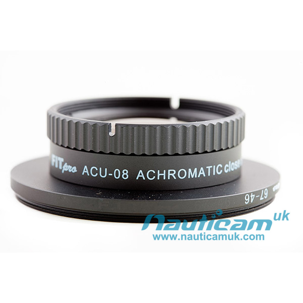 F.I.T. Pro 67mm thread Achromatic +8 wet lens
