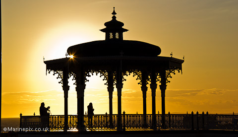 Bandstand at Sunset